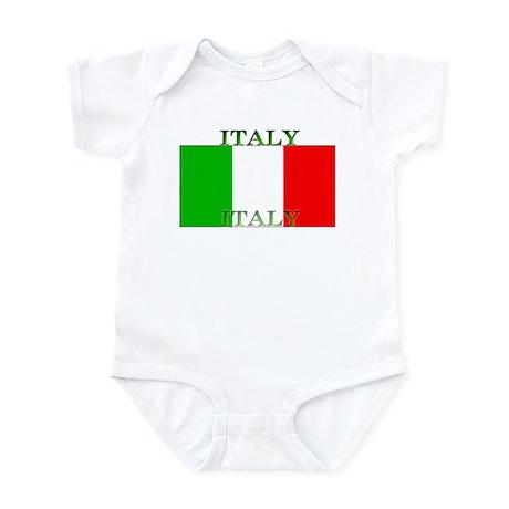 Italy Italian Flag Infant Creeper