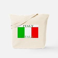 Italy Italian Flag Tote Bag