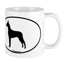 Great Dane Silhouette Mug