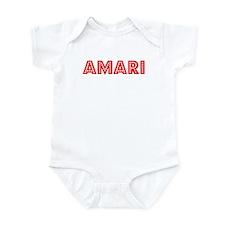 Retro Amari (Red) Infant Bodysuit
