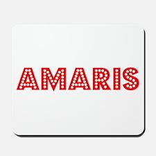 Retro Amaris (Red) Mousepad