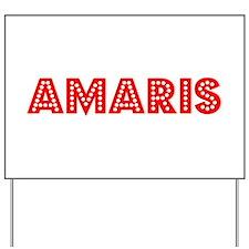 Retro Amaris (Red) Yard Sign