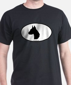 Great Dane Head T-Shirt