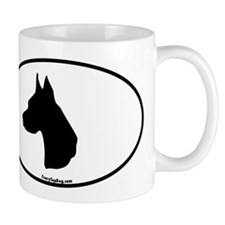 Great Dane Head Mug