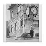 Dreger Clock Tile Coaster