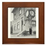 Dreger Clock Framed Tile