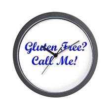 Gluten Free? Call Me! Wall Clock