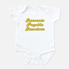Retro Accounts Pa.. (Gold) Infant Bodysuit