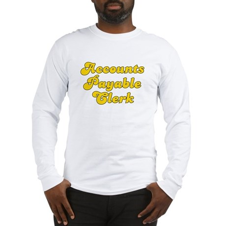 Retro Accounts Pa.. (Gold) Long Sleeve T-Shirt