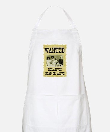 Wanted Poster BBQ Apron