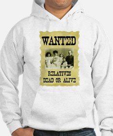 Wanted Poster Hoodie
