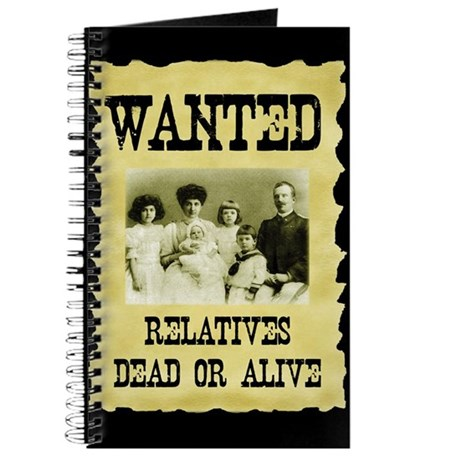Wanted Poster Journal