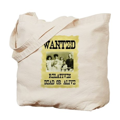 Wanted Poster Tote Bag