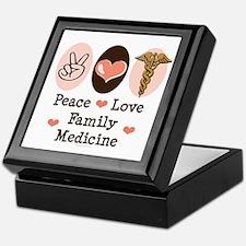 Peace Love Family Medicine Keepsake Box