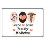 Peace Love Family Medicine Banner