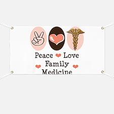 Peace Love Family Medicine Banner
