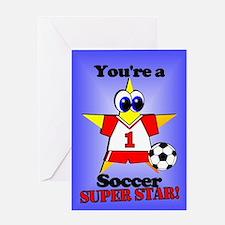 Soccer Birthday Greeting Card