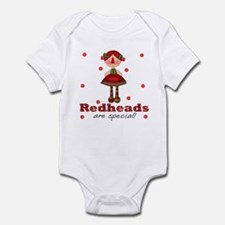 Redheads are Special Baby Infant Bodysuit