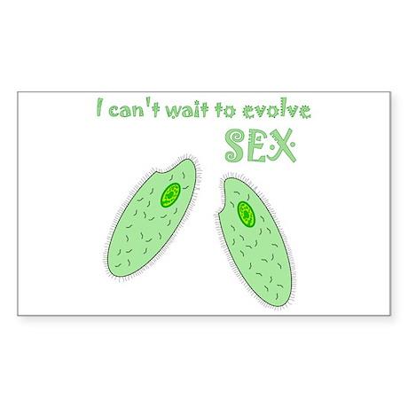 Evolve SEX Rectangle Sticker