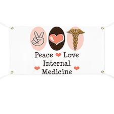Peace Love Internal Medicine Banner