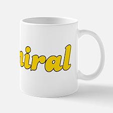 Retro Admiral (Gold) Mug