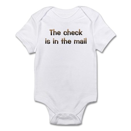 CW Check In Mail Infant Bodysuit