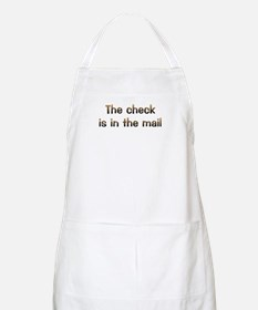 CW Check In Mail BBQ Apron