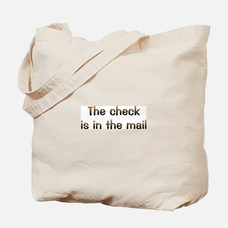 CW Check In Mail Tote Bag