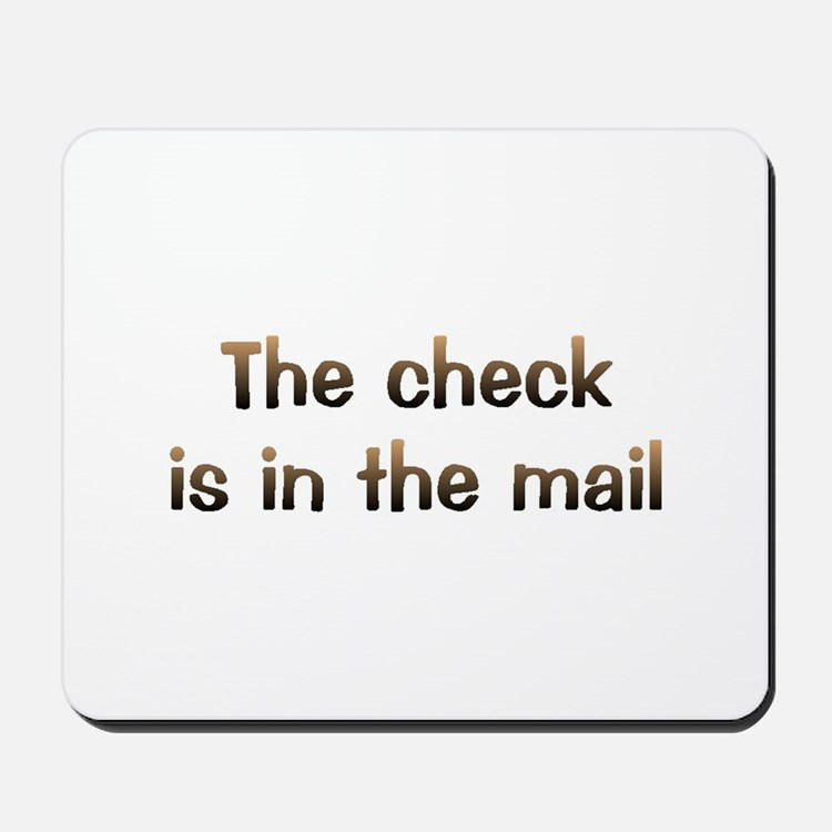 CW Check In Mail Mousepad