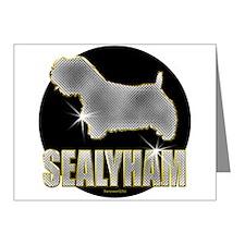 Bling Sealyham Note Cards (Pk of 10)