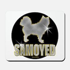 Bling Samoyed Mousepad