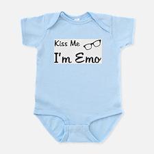 Kiss Me I'm Emo Infant Creeper