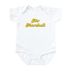 Retro Air Marshall (Gold) Infant Bodysuit