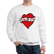 21st Heart Tattoo Jumper