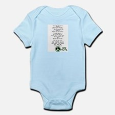 New Paltz Martin Niemoeller Quote Infant Creeper