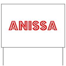 Retro Anissa (Red) Yard Sign