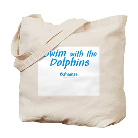 Swim with Dolphins - Tote Bag
