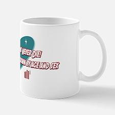 Old Statisticians Never Die Mug