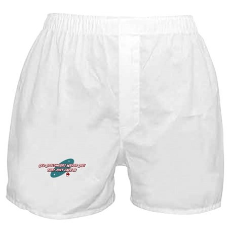 Old Spelunkers Never Die Boxer Shorts