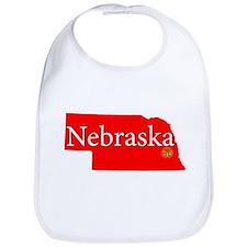 Funny Nebraska Bib
