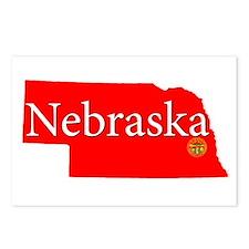 Cool Nebraska cornhuskers Postcards (Package of 8)