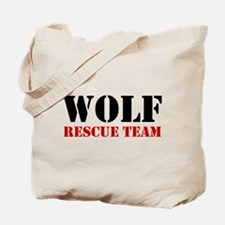 Wolf Rescue Team Tote Bag (image both sides)