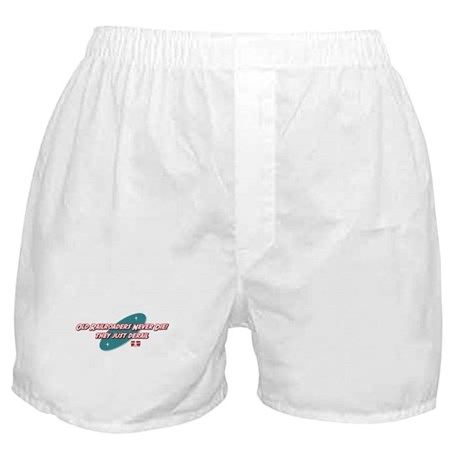 Old Railroaders Never Die Boxer Shorts