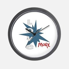 Love More Wall Clock