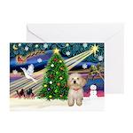XmasMagic/Havanese pup Greeting Cards (Pk of 10)