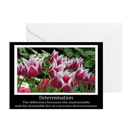 Determination Motivational Greeting Cards (Pk of 1