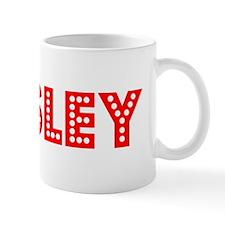 Retro Ansley (Red) Mug