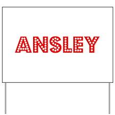 Retro Ansley (Red) Yard Sign