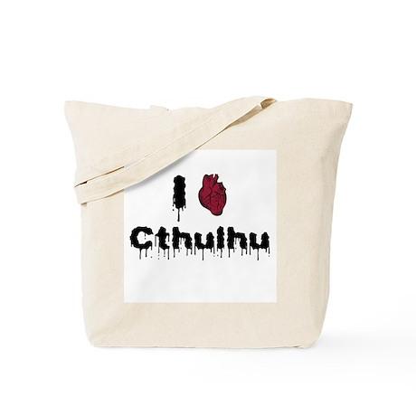 I heart Cthulhu 2 Tote Bag