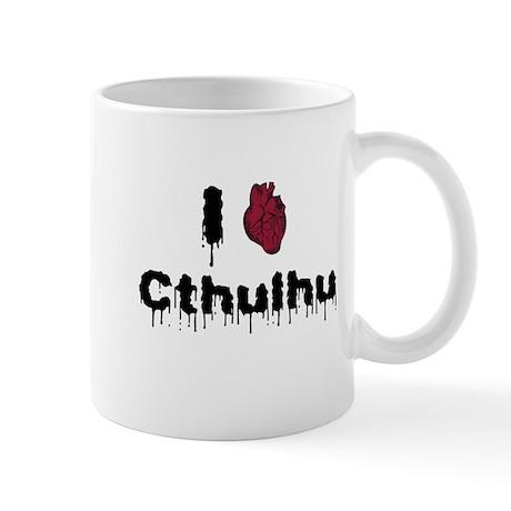 I heart Cthulhu 2 Mug
